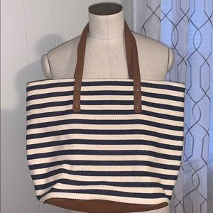 Forever 21 Striped Tote
